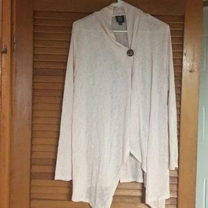 Cute asymmetrical button cardigan